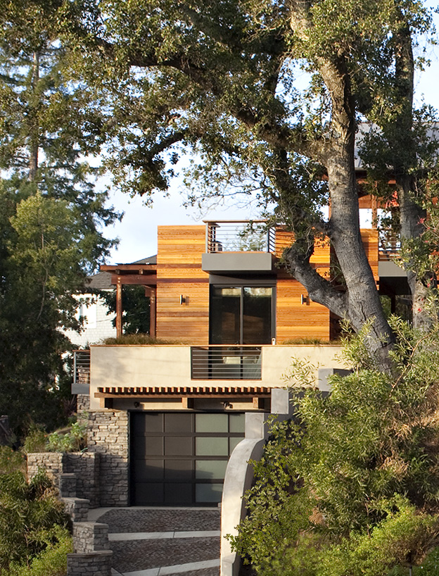 Hillside house by sb architects housevariety Hillside homes