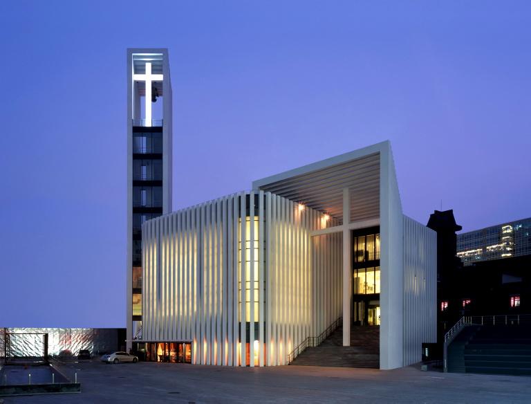 Zhongguancun christian church by gmp architekten - Gmp architektur ...