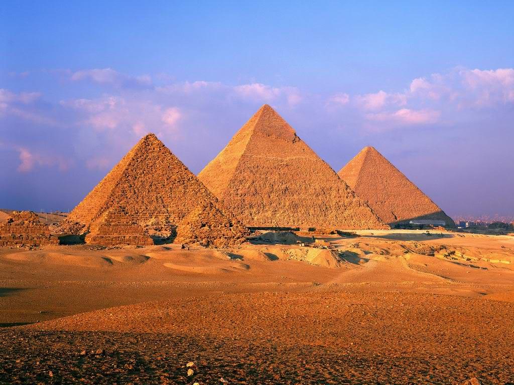 Afrika Piramide-giza-egipat