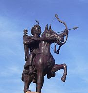 Statue of Prithviraj Chauhan At Ajmer