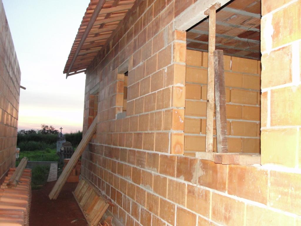 Imagens de #AB6C20 Casa 12: Fachada e Lateral. 1024x768 px 3408 Bloco Cad Banheiro Vista Frontal