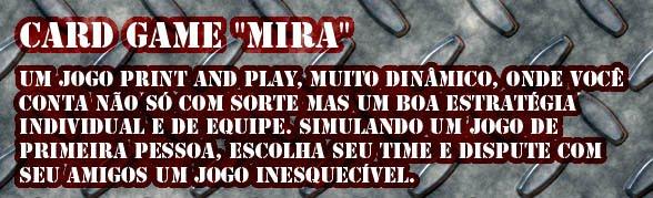 """Card Game """"Mira"""""""