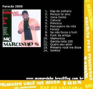 Mc Marcinho   Perfil ao vivo | músicas