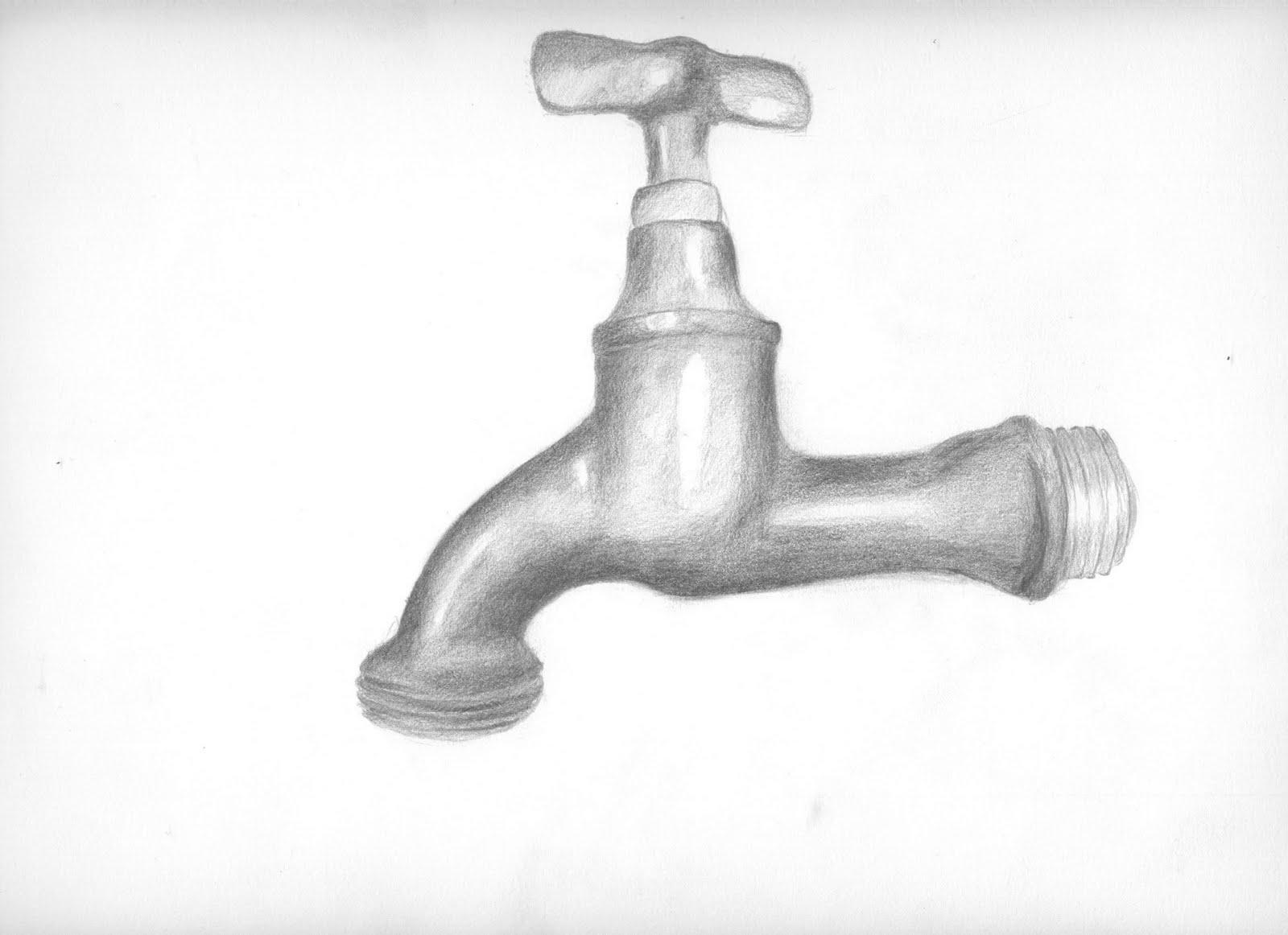 Wasserhahn  Zeichnungen und Anderes ~ Wasserhahn Y