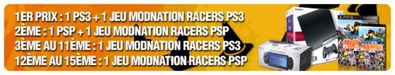 Concours ModNation Racers : PS3, PSP et jeux à gagner
