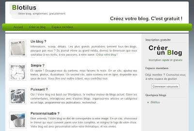 Créer un blog Wordpress gratuitement, simplement