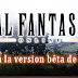 Final Fantasy XIV : inscrivez-vous à la beta !