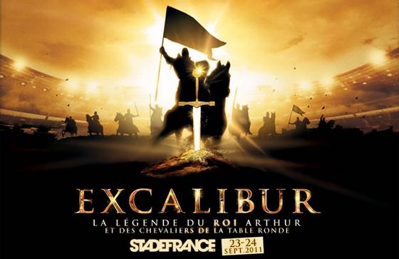 Excalibur au Stade de France en 2011