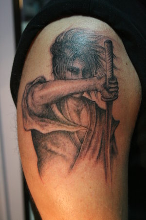 samurai tattoo designs. Samurai Tattoo Designs