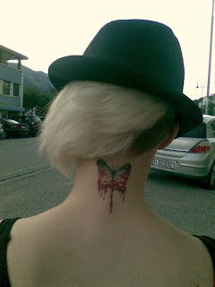 Neck Tattoos For Girl