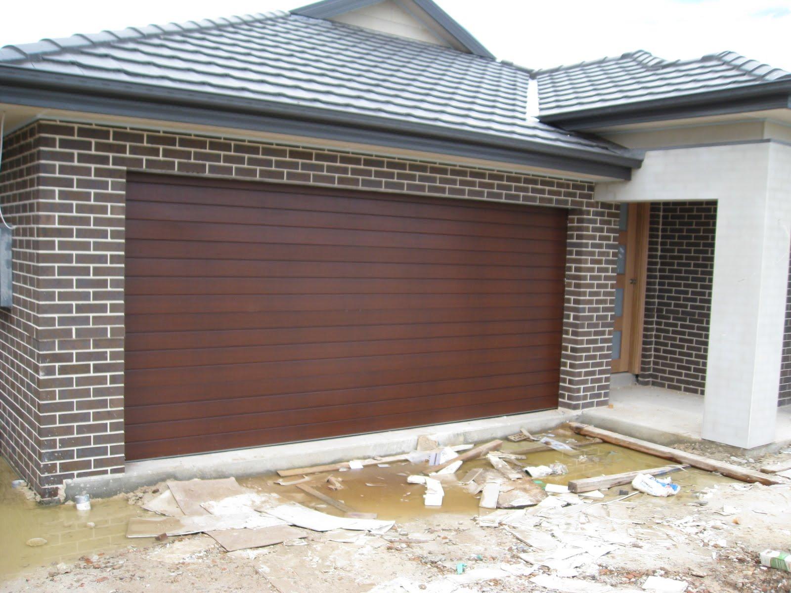 GARAGE DOOR - Colorbond  Caoba  | House Build - Colour Selections | Pinterest | Garage doors Doors and House facades & GARAGE DOOR - Colorbond