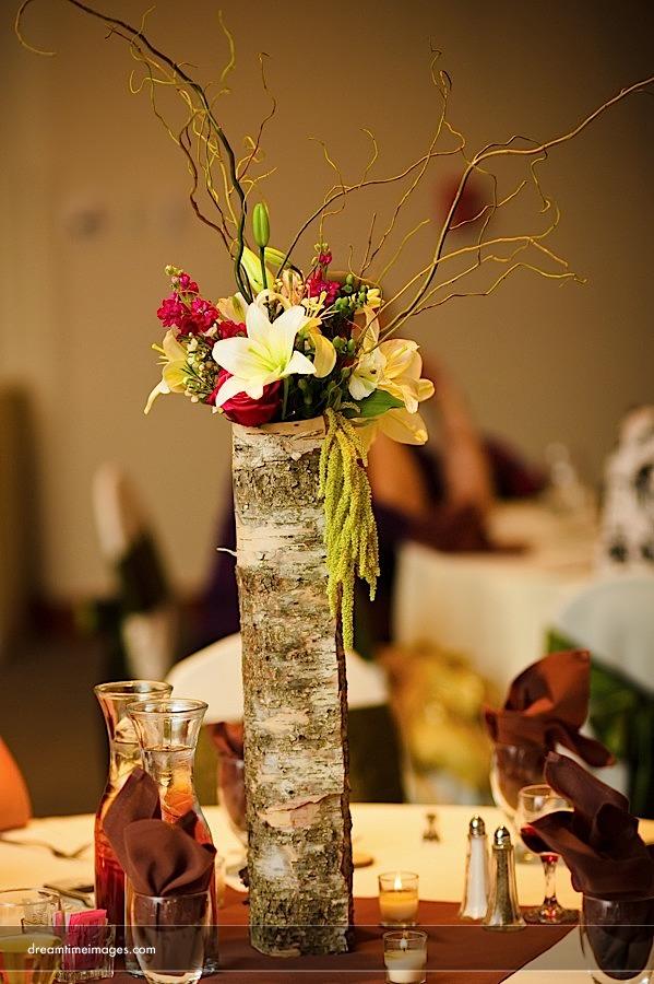 Estes Park Wedding And Event Planners Diy Birch Bark Vases