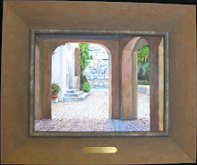 Tournon Courtside  9x12 $250 sold