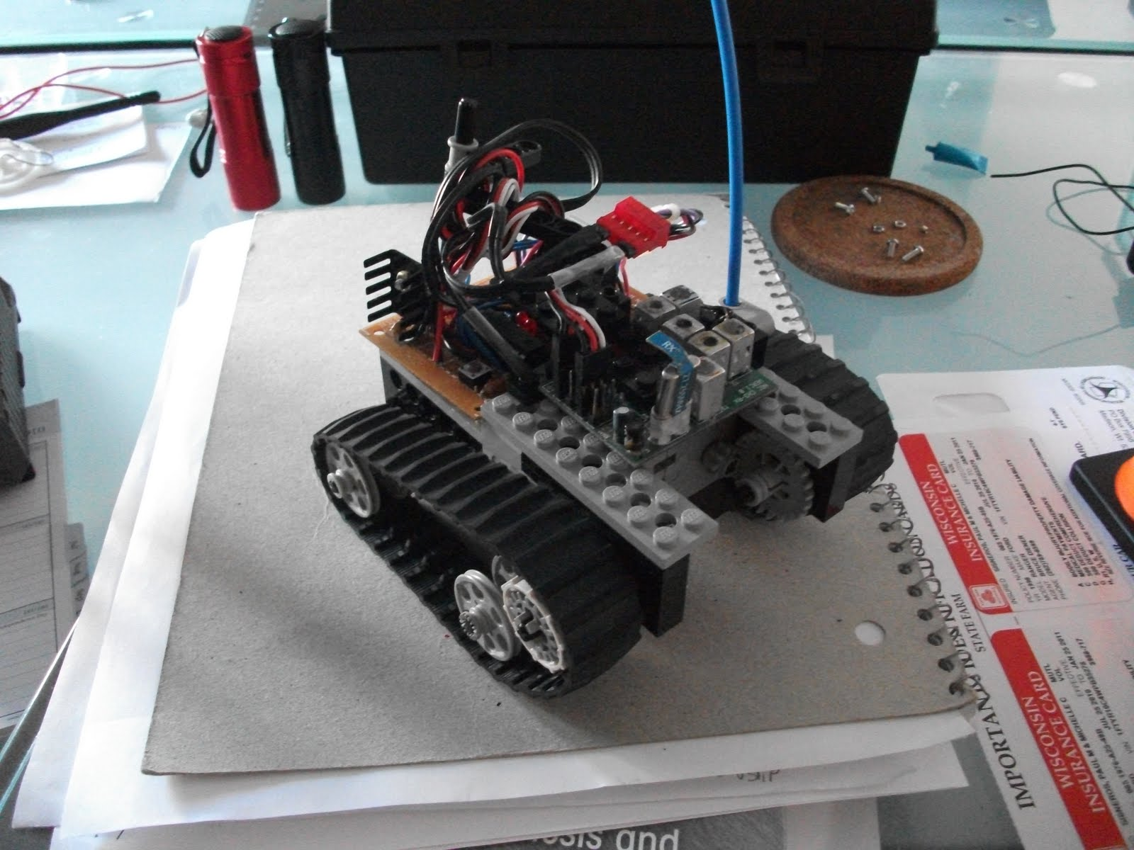 Paul Makes Things The Tank Drive Rc Motor Driver Car Wiring Diagram 2ch Am Reciver Next Step In This Project Is A More Solid Version Im Working On Schematic To Create An Actual Board Ive Built Gearbox And I Plan Make