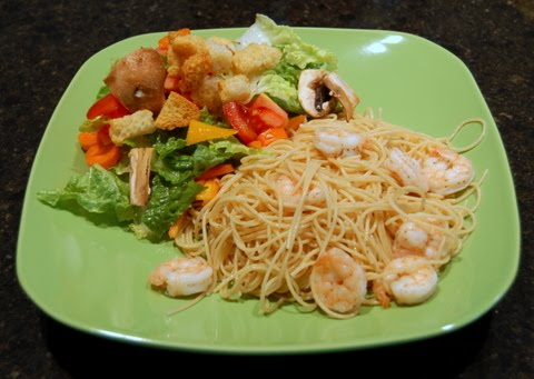 Adventures In Food Lime Pasta With Roasted Shrimp