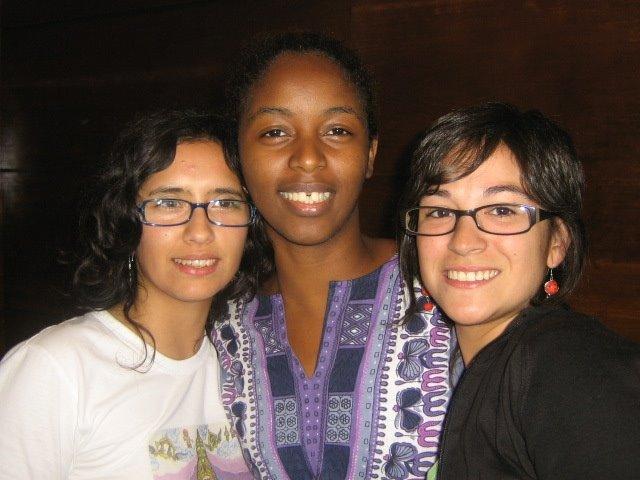 Angela, Chindalena y María José