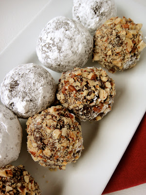 Rum Balls Recipe With Melted Chocolate