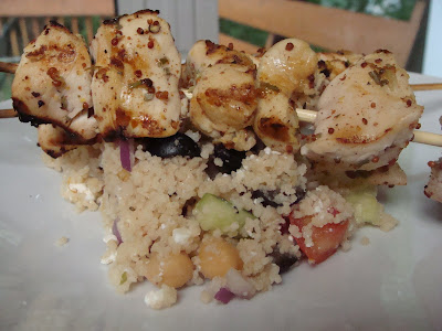 Vanilla Bean Cafe: Lemon-Rosemary Chicken Kebabs with ...
