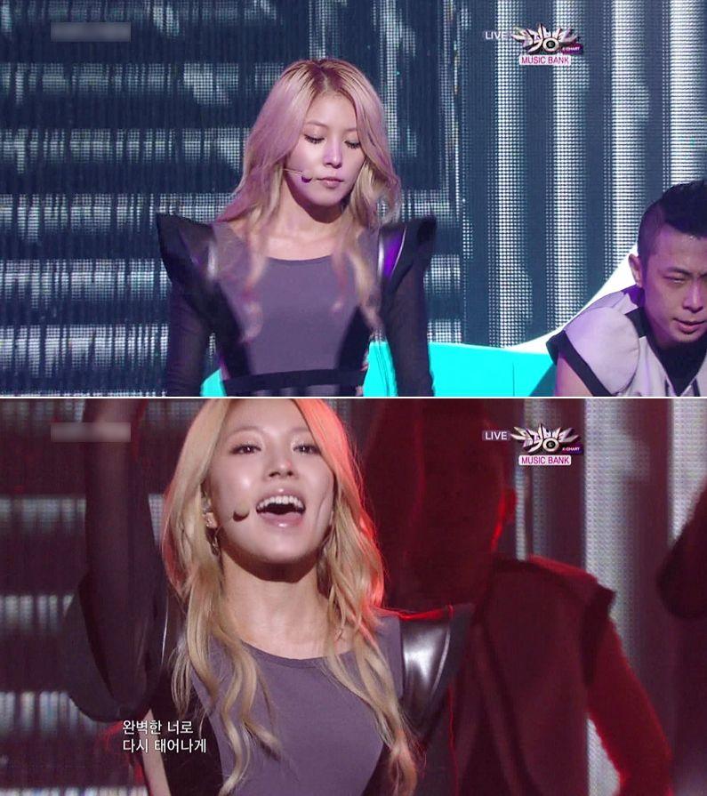 [Pics] BoA en Music Core {COPY & PASTE} Live E5087bf47bcfb49ff2d38502