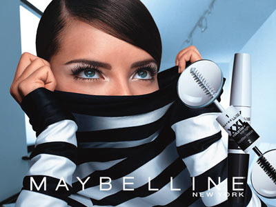 Adriana Lima Maybelline Ad