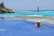 El Garrafon(www.garrafon.com)Fica em Isla Mujeres. (dsc )