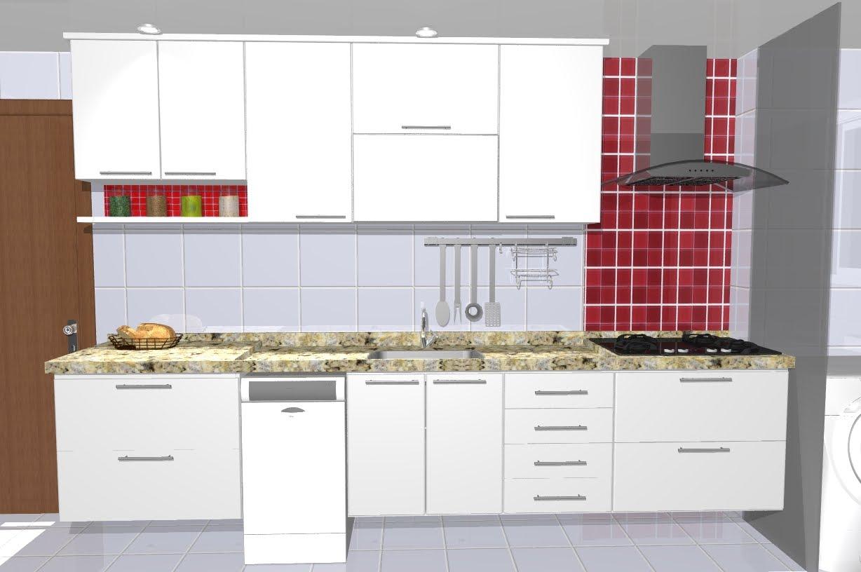 Braga's Home: Projeto da cozinha definido  #A8232A 1228 816