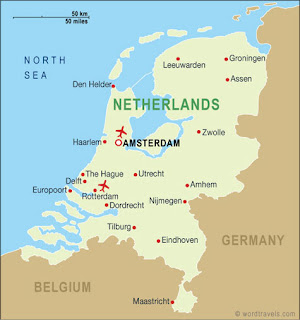 All Dutch Culturecom Location - Where is the netherlands located