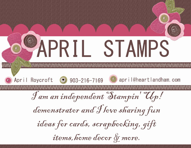 Stamp With April