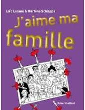 """J'aime ma famille"" de Marlène Schiappa et Loïc Lecanu, grand format (Robert Laffont)"