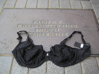 Olga, the Traveling Bra hits the streets of Memphis!