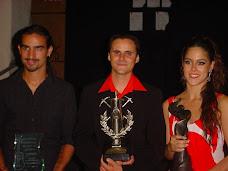 Los tres ganadores de La Union 2007