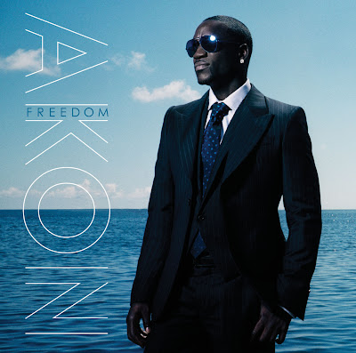 Check out the album cover for Akon's Latest CD 'Freedom' - Available In