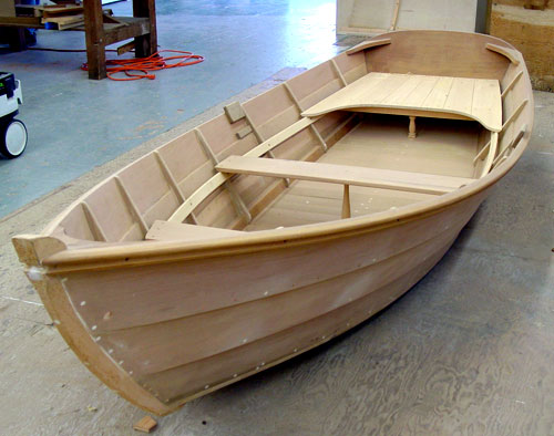 Small Wooden Boat Building Plans