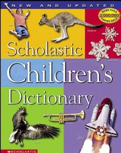 how to use a dictionary for kids