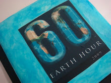 Earth Hour 2009 cake