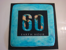 Earth Hour cake