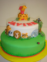 Jungle Cake for Javier