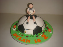 Footballer Dylan's Birthday