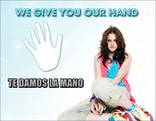 KRISTEN STEWART WE GIVE YOU OUR HAND/TE DAMOS LA MANO