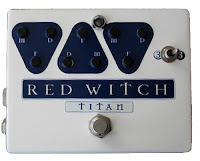 rw tad Red Witch Titan Analog Delay w/Effects Loop now in stock!