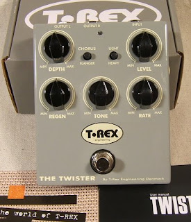 tr twist Indroducing the T Rex Twister Stereo Chorus/Flanger