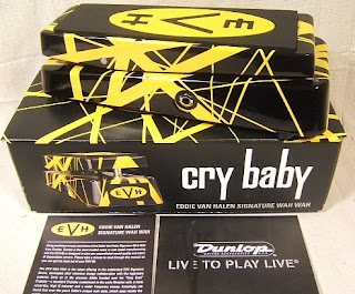 jd evhwah Dunlop EVH95 Eddie Van Halen wah is finally in stock!