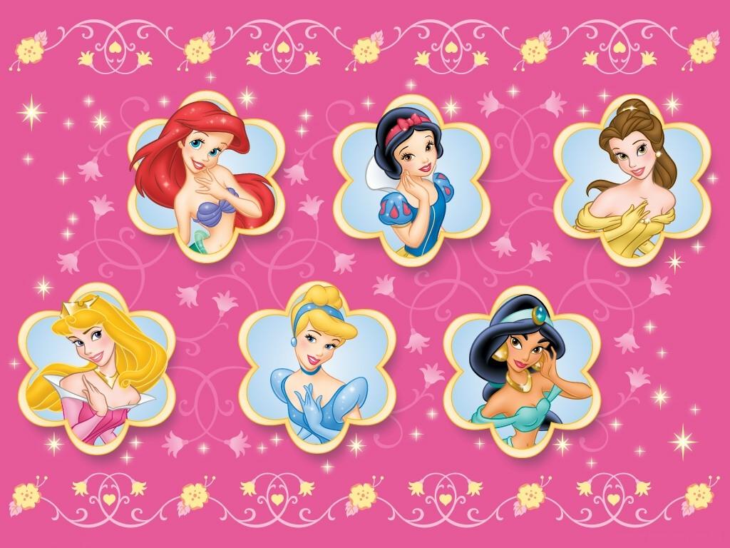 Ariel  Branca De Neve  Bela  Bela Adormecida  Cinderela E Jasmine