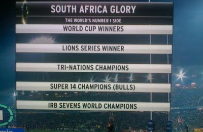 South Africa glory