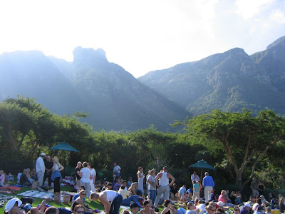 Kirstenbosch Summer Sunset Concerts - Table Mountain