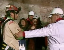 First miner to be rescued, Florencio Avalos