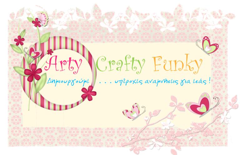 arty crafty funky