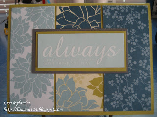 Stampin Up Urban Garden