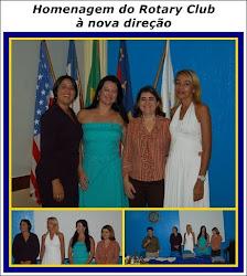O Rotary Club de Vitória da Conquista presta uma linda homenagem à nova direção.