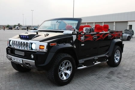 android cars Hummer H2 2010